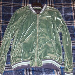 velvet american eagle jacket